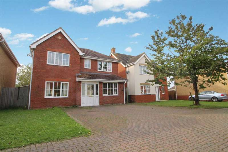 4 Bedrooms Detached House for sale in Morgan Drive, Ipswich