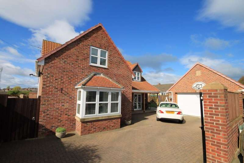 3 Bedrooms Detached House for sale in Foundry Fields, Crook