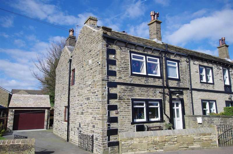 3 Bedrooms Semi Detached House for sale in High Street, Stainland, Halifax