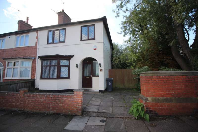 3 Bedrooms Semi Detached House for sale in Kimberley Road, Leicester, LE2