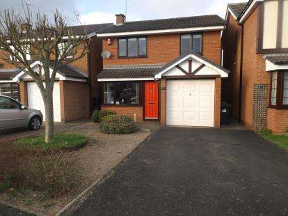 3 Bedrooms Detached House for sale in Cutty Sark Drive, Stourport-On-Severn, Worcestershire