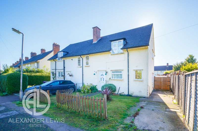 3 Bedrooms Semi Detached House for sale in Burnell Rise, Letchworth Garden City SG6 3RN