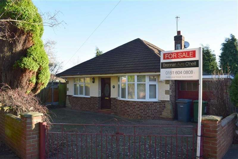 3 Bedrooms Detached Bungalow for sale in Larkhill Way, CH49