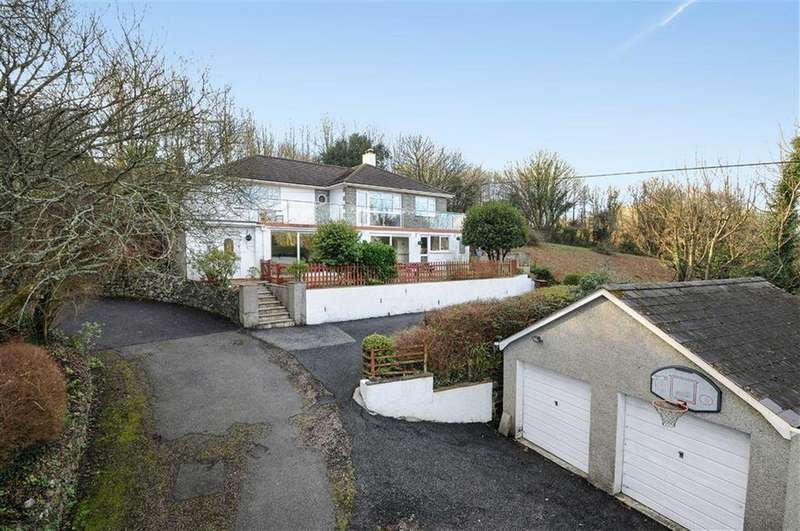 5 Bedrooms Detached House for sale in Lowertown, Helston, Cornwall, TR13