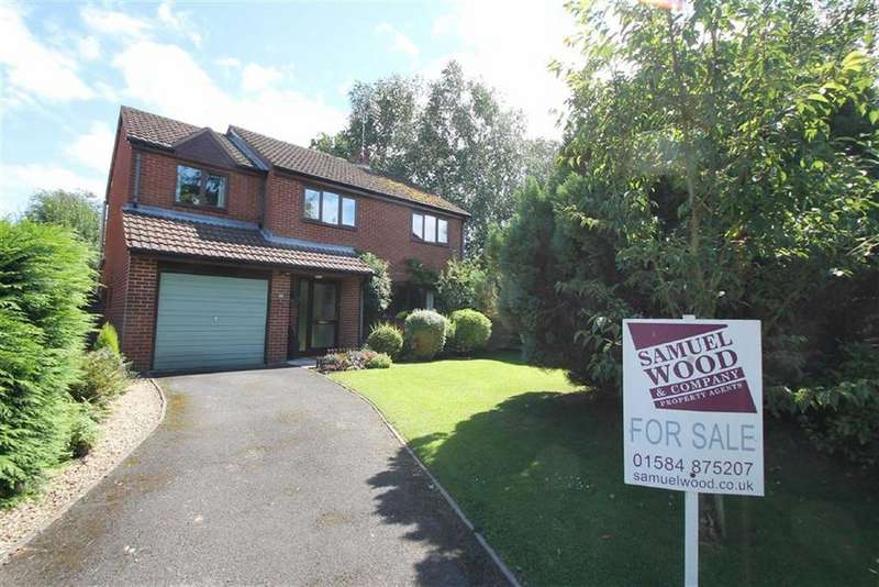 4 Bedrooms Detached House for sale in Mortimer Drive, Orleton, Ludlow