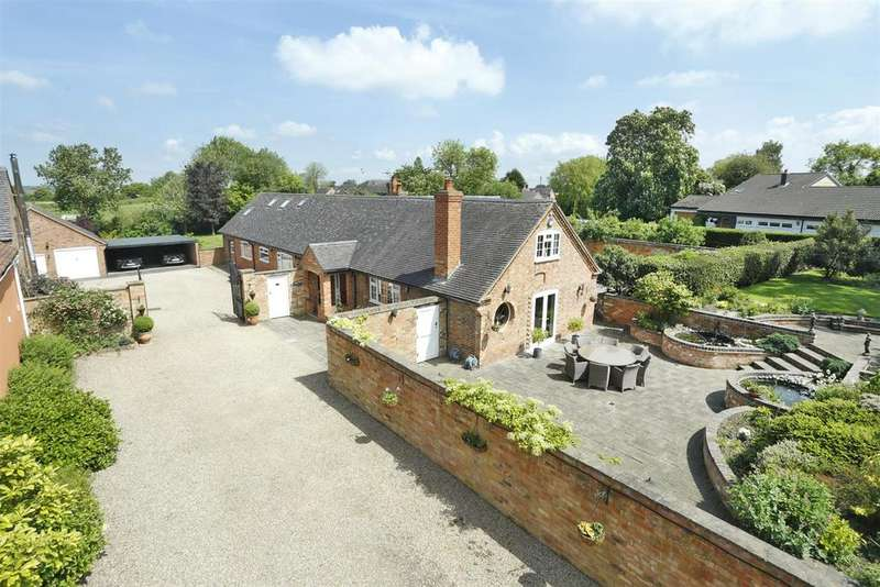 4 Bedrooms Barn Conversion Character Property for sale in School Lane, Stapleton, Leicestershire