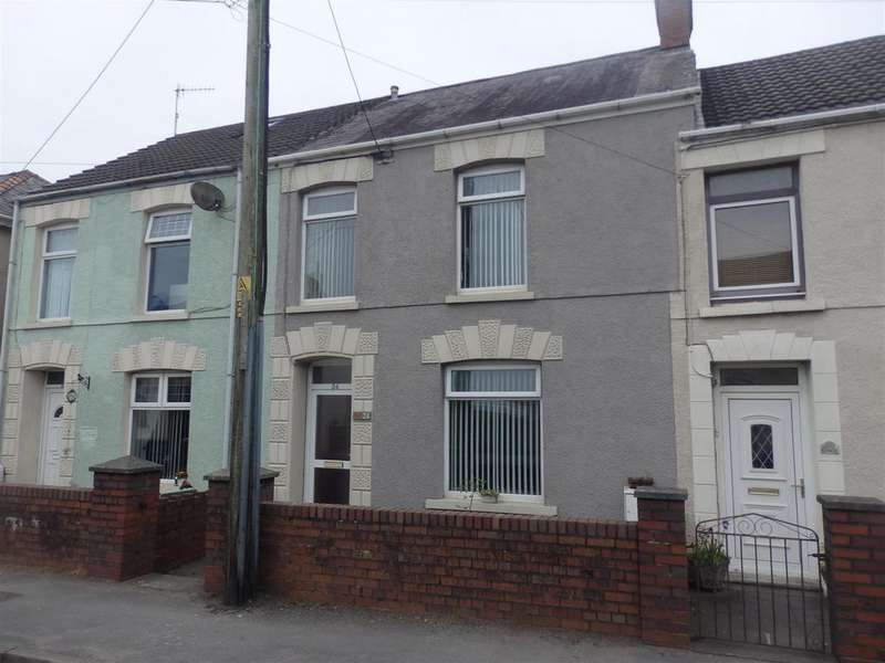 3 Bedrooms Terraced House for sale in Bassett Terrace, Pwll, Llanelli