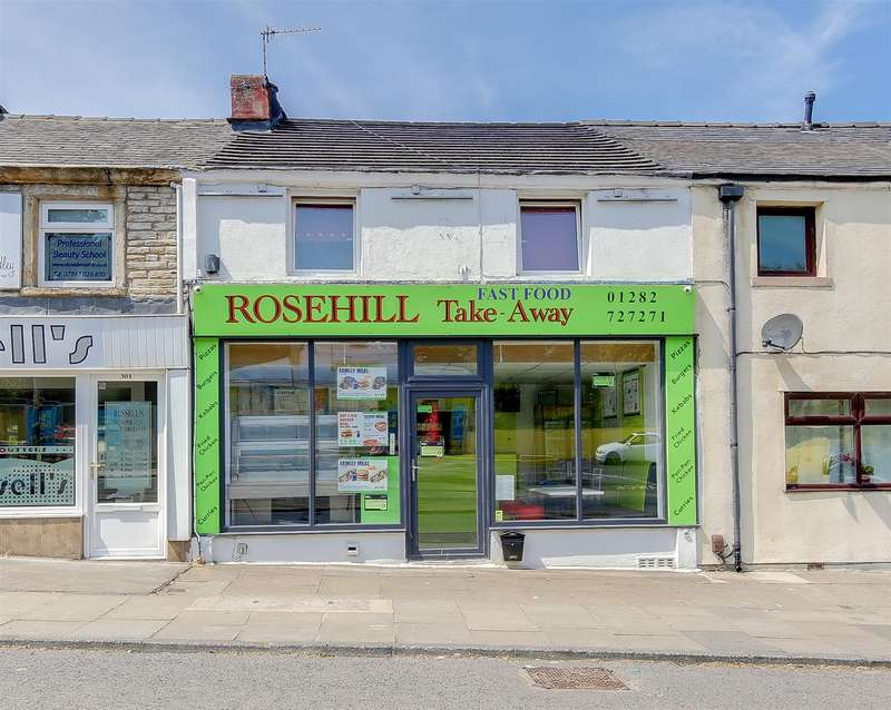 Shop Commercial for sale in Rosehill Takeaway, Manchester Road, Burnley