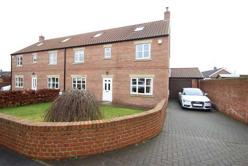 5 Bedrooms Semi Detached House for sale in Willow Gardens, Low Street, Leeming Bar, Northallerton, North Yorkshire