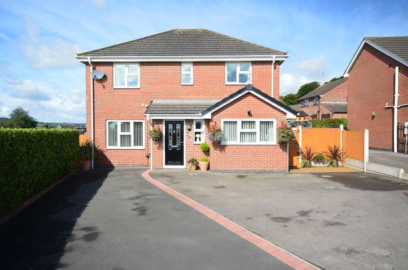 4 Bedrooms Detached House for sale in ****NEW**** Glebe Gardens, Cheadle, ST10 1YW