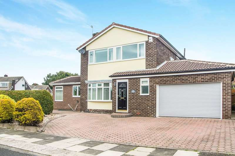 4 Bedrooms Detached House for sale in Greystoke Avenue, Whickham, Newcastle Upon Tyne, NE16