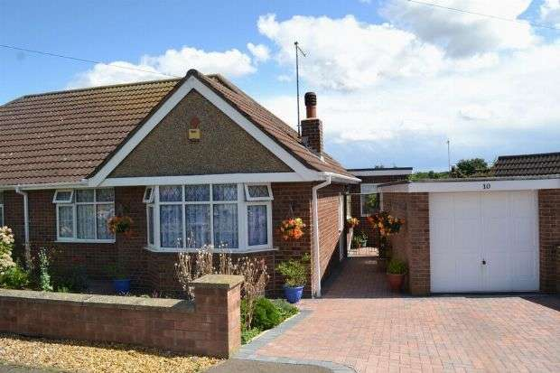 2 Bedrooms Semi Detached Bungalow for sale in Burford Avenue, Boothville, Northampton NN3 6AF