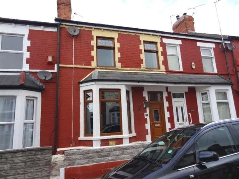 4 Bedrooms Terraced House for sale in Cora Street, Barry