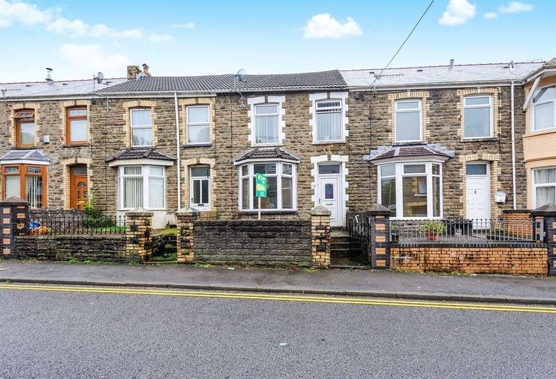 3 Bedrooms Terraced House for sale in Hermon Road, Maesteg