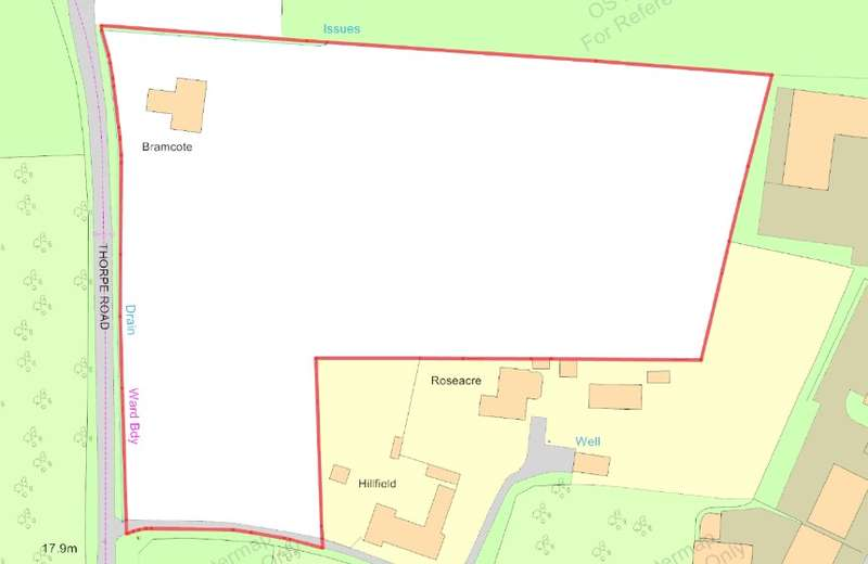 49 Bedrooms Plot Commercial for sale in Land at Bramwood, Thorpe Road, Clacton-on-Sea, Essex, CO16 9SA