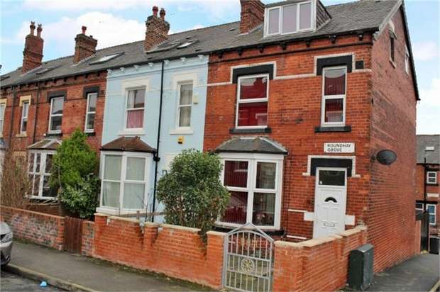 5 Bedrooms End Of Terrace House for sale in Roundhay Grove, Leeds, West Yorkshire