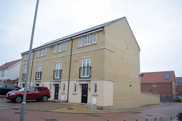 4 Bedrooms End Of Terrace House for sale in School Avenue, Basildon, Essex