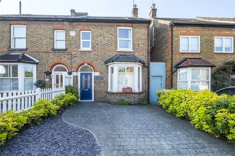 4 Bedrooms Semi Detached House for sale in Kings Road, Kingston upon Thames, KT2