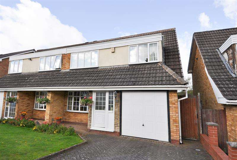 3 Bedrooms Semi Detached House for sale in Tollgate Close, Northfield, Birmingham