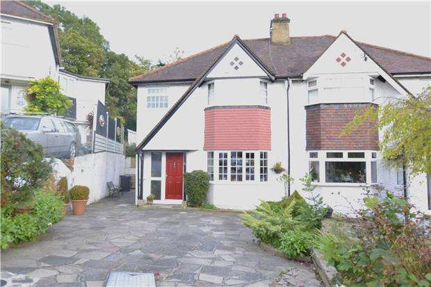 3 Bedrooms Semi Detached House for sale in Famet Avenue, PURLEY, Surrey, CR8 2DN