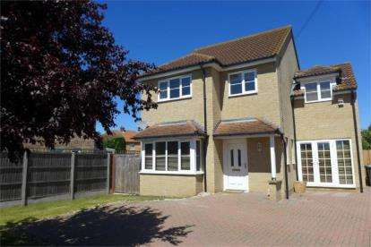 4 Bedrooms Detached House for sale in Rowan Crescent, Biggleswade, Bedfordshire