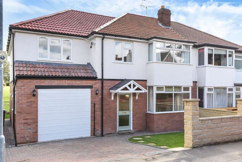 5 Bedrooms Semi Detached House for sale in Bentcliffe Gardens, Moortown, Leeds, LS17 6QS