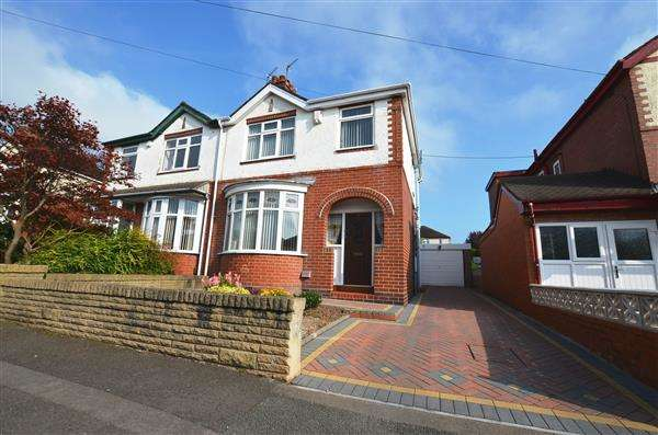 3 Bedrooms Semi Detached House for sale in Loring Road, Porthill, Newcastle-under-Lyme