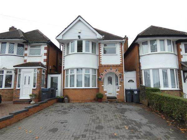 3 Bedrooms Detached House for sale in Benedon Road, Sheldon, Birmingham