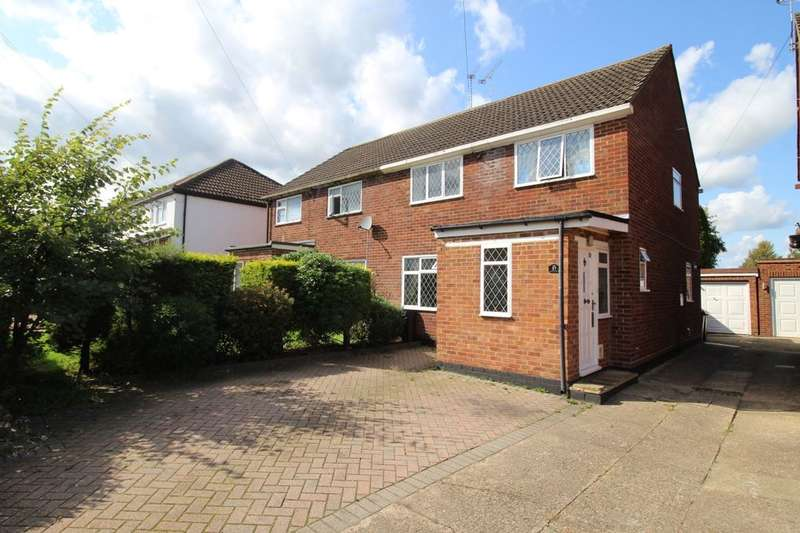 3 Bedrooms Semi Detached House for sale in Wavendene Avenue, Egham, TW20