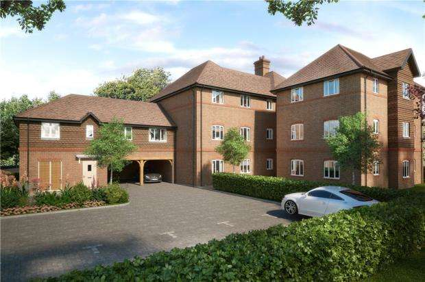 2 Bedrooms Apartment Flat for sale in Eldridge Park, Bell Foundry Lane, Wokingham