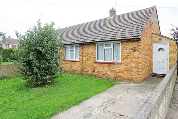 2 Bedrooms Semi Detached Bungalow for sale in Roberts Close, Sittingbourne, Kent
