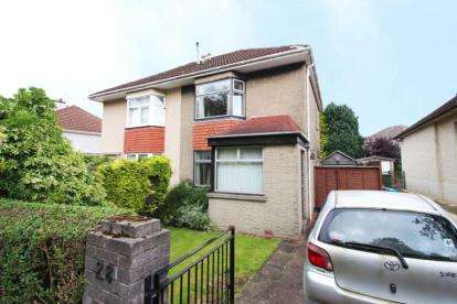 2 Bedrooms Semi Detached House for sale in Bakewell Road, Garrowhill, Glasgow, Lanarkshire
