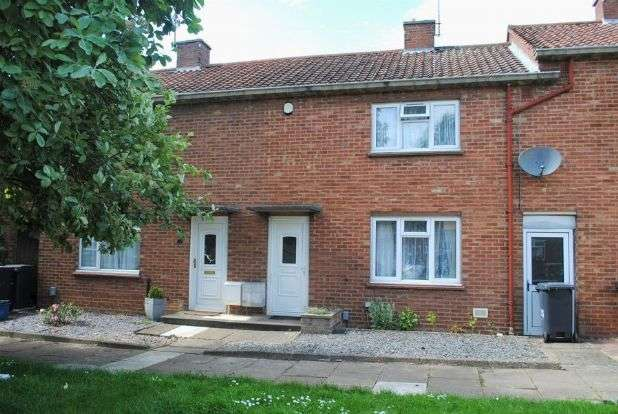 3 Bedrooms Terraced House for sale in Aynho Walk, Kingsthorpe, Northampton NN2 8JX