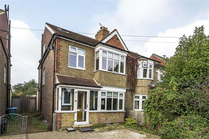 4 Bedrooms Semi Detached House for sale in Fifth Cross Road, Twickenham, TW2