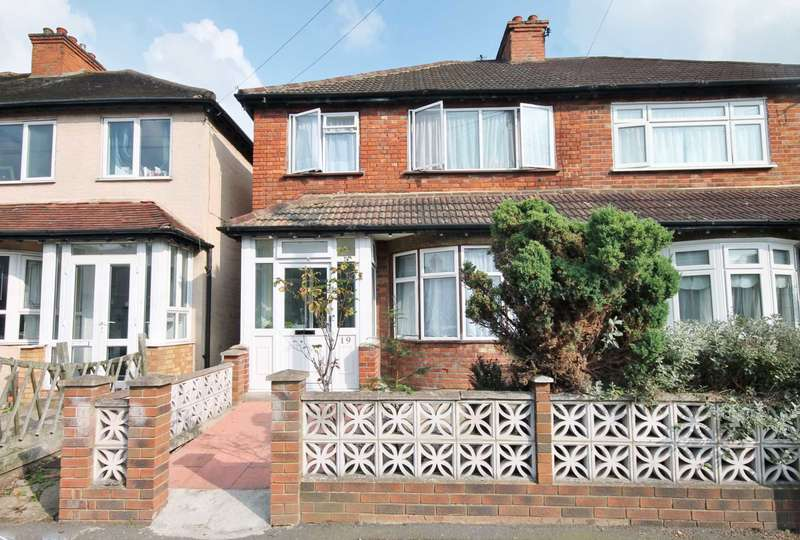 3 Bedrooms Semi Detached House for sale in Elm Road, New Malden