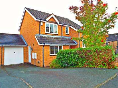 3 Bedrooms Detached House for sale in Moonlight Close, Wrexham, LL11