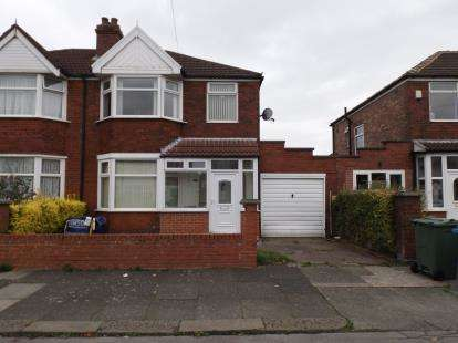 3 Bedrooms House for sale in Barkway Road, Stretford, Manchester, Greater Manchester