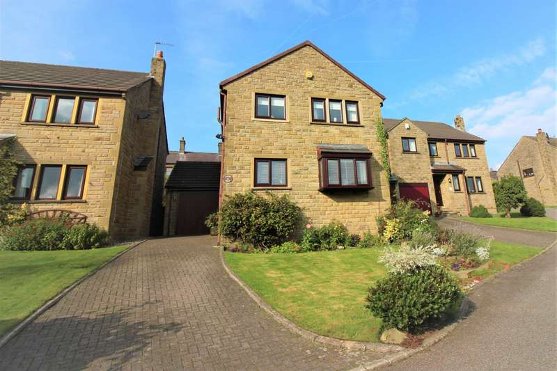 4 Bedrooms Detached House for sale in Badger Brow, Meltham, Holmfirth