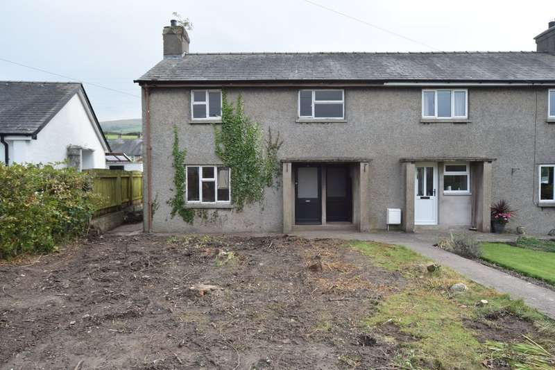 3 Bedrooms End Of Terrace House for sale in Burlington Close, Kirkby-in-Furness, Cumbria, LA17 7UG