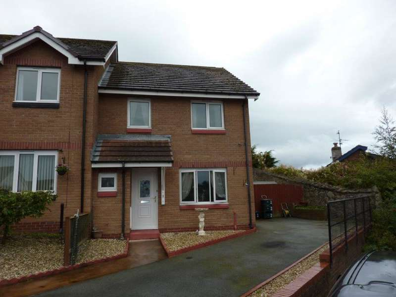 3 Bedrooms Semi Detached House for sale in Bryn Defaid, Rhos on Sea, LL28 4UG