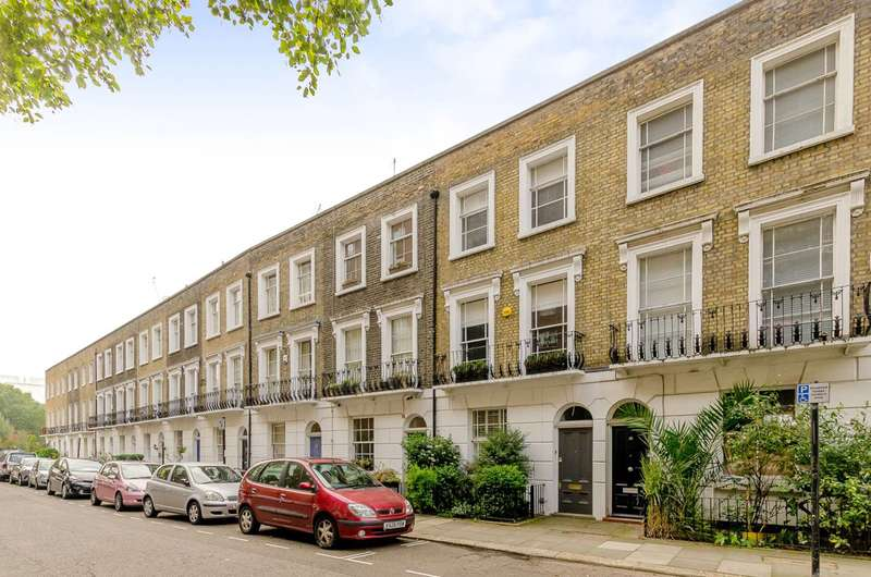 3 Bedrooms House for sale in Goldington Street, Camden Town, NW1
