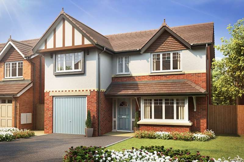 4 Bedrooms Detached House for sale in The Davenham Walton Meadows, Walton-Le-Dale, Preston, PR5