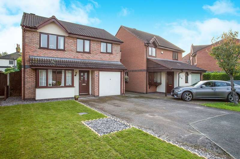 4 Bedrooms Detached House for sale in Guernsey Close, Congleton, CW12