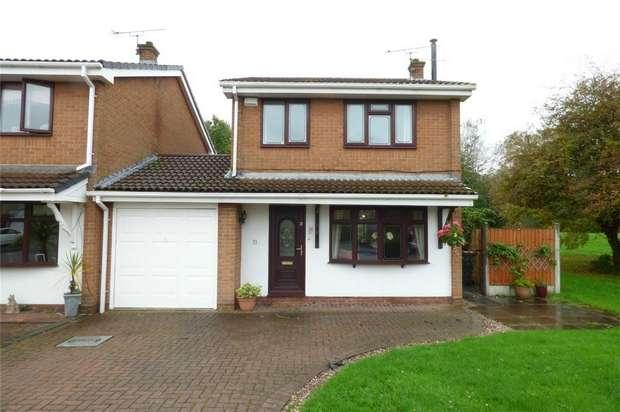 3 Bedrooms Link Detached House for sale in Launceston Drive, Horeston Grange, Nuneaton, Warwickshire