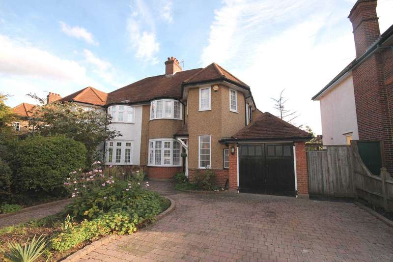 4 Bedrooms Semi Detached House for sale in Bodley Road, New Malden