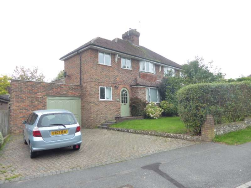3 Bedrooms Semi Detached House for sale in Mount Harry Road, Lewes