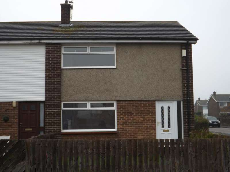 2 Bedrooms End Of Terrace House for sale in Glendale, Amble, Morpeth, Northumberland, NE65 0RH