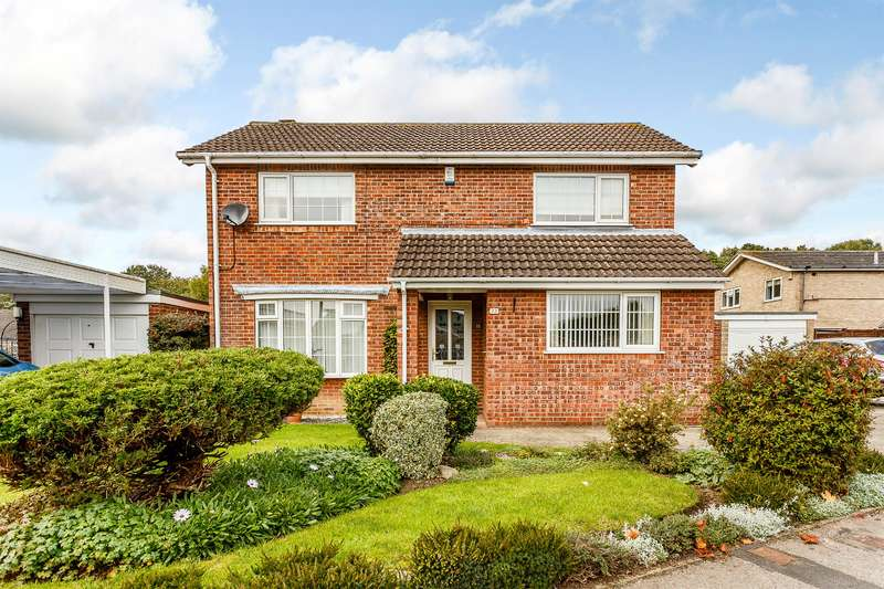 3 Bedrooms Detached House for sale in Grassholme, Woodthorpe, York, YO24 2ST