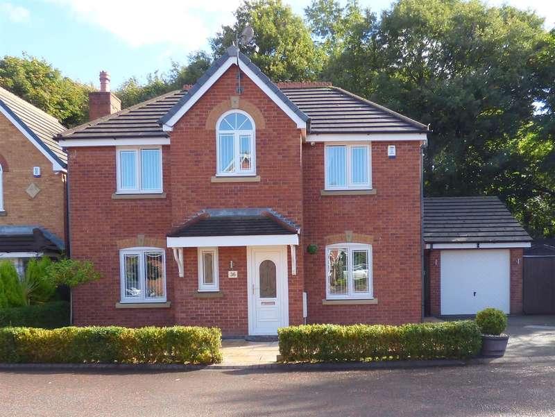 4 Bedrooms Detached House for sale in Smithford Walk, Tarbock Green, Prescot