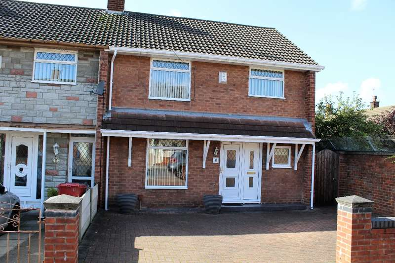 3 Bedrooms Town House for sale in Horrocks Close Huyton L36